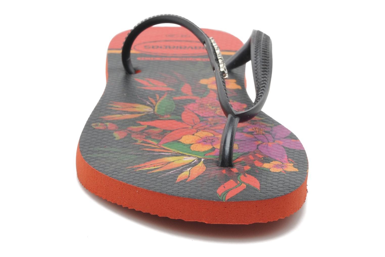 Slippers Havaianas Slim Tropical Zwart model