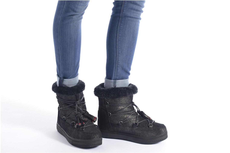 Bottines et boots Colors of California Fiore Marron vue bas / vue portée sac