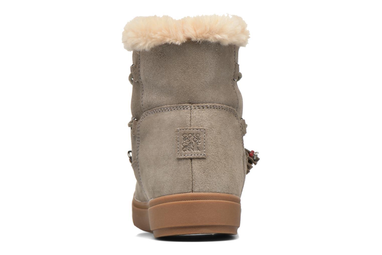 Bottines et boots Colors of California Fiore Marron vue droite