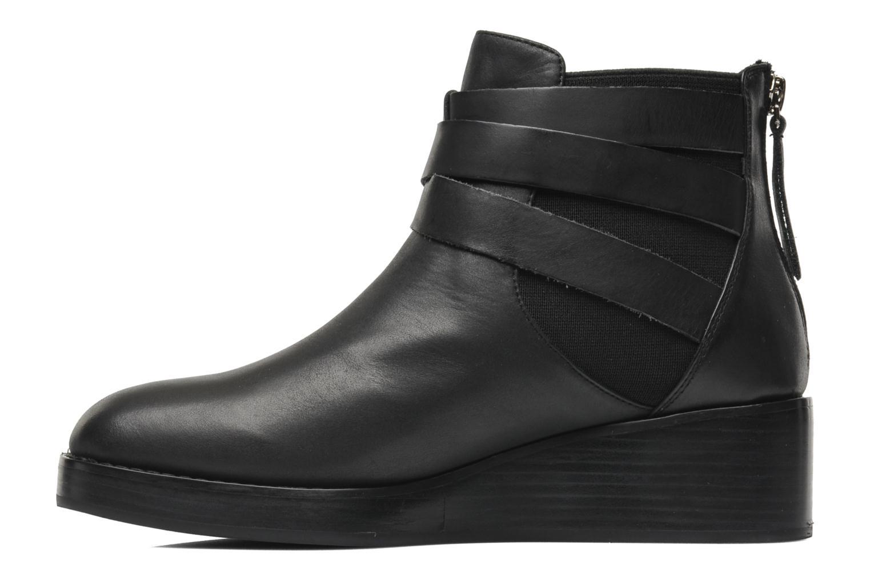 Boots en enkellaarsjes Jeffrey Campbell Bruno Zwart voorkant