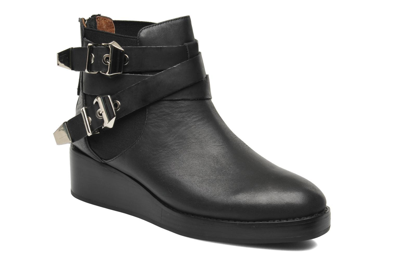 Boots en enkellaarsjes Jeffrey Campbell Bruno Zwart detail
