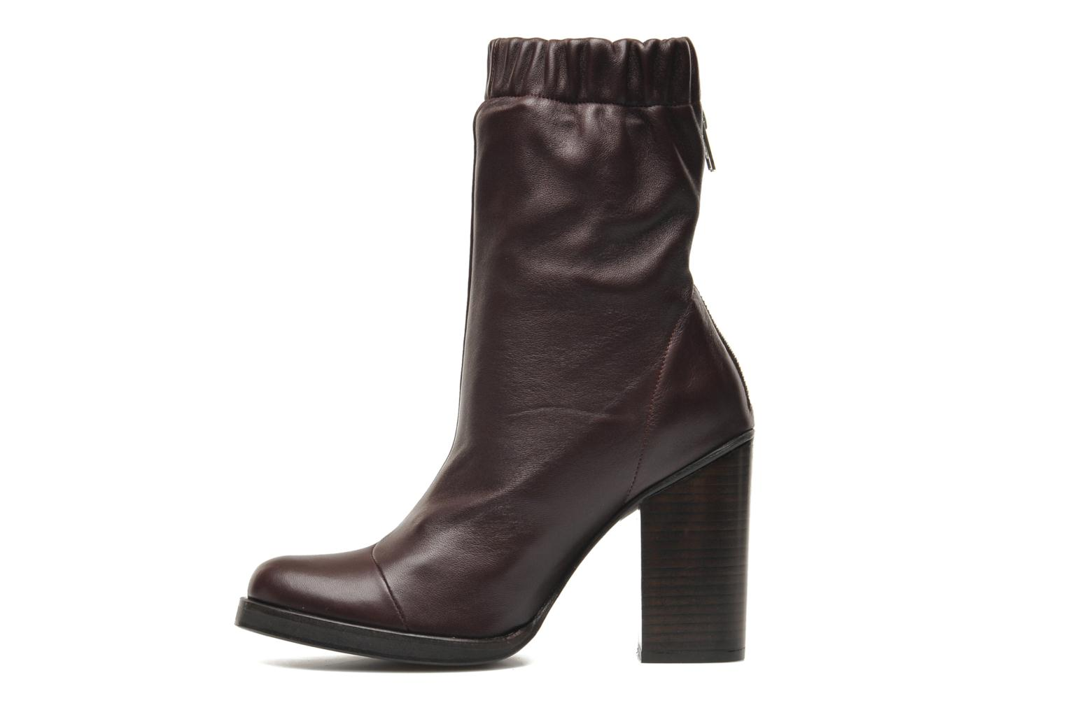 Bottines et boots Opening Ceremony Lucie Mid Boot Bordeaux vue face