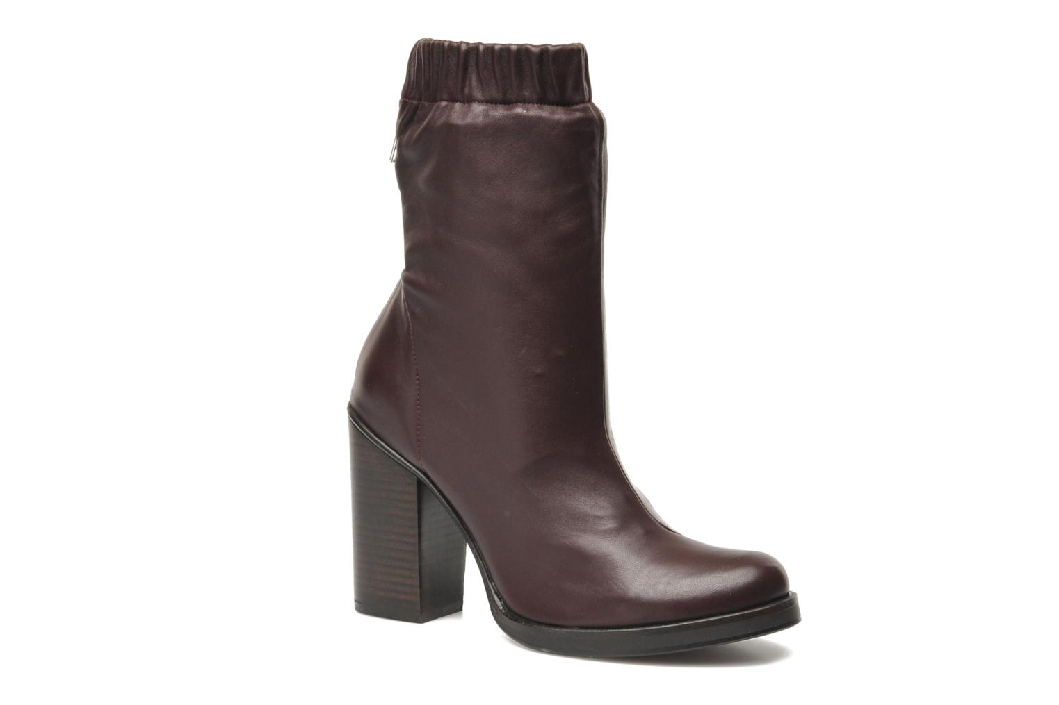 Bottines et boots Opening Ceremony Lucie Mid Boot Bordeaux vue détail/paire