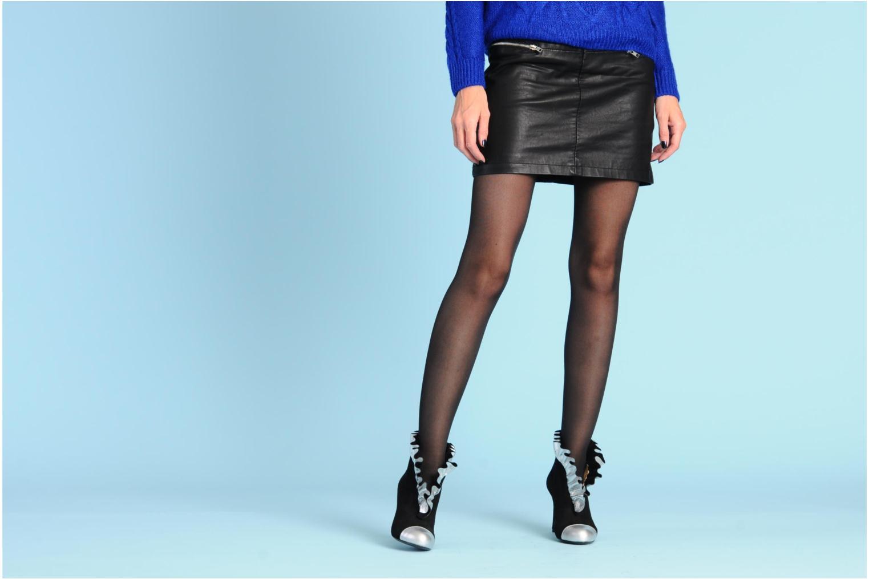 Stiefeletten & Boots MySuelly Lola froufrou schwarz ansicht von unten / tasche getragen