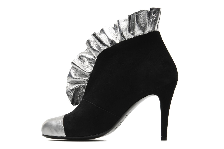 Bottines et boots MySuelly Lola froufrou Noir vue face