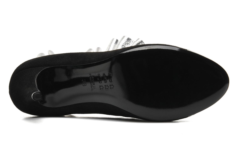 Stiefeletten & Boots MySuelly Lola froufrou schwarz ansicht von oben