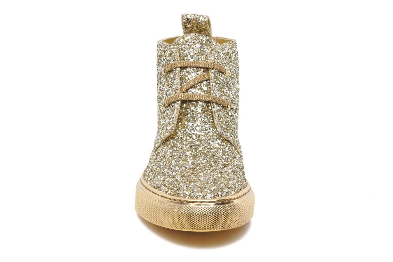 Baskets Sonia Rykiel St père desert Or et bronze vue portées chaussures