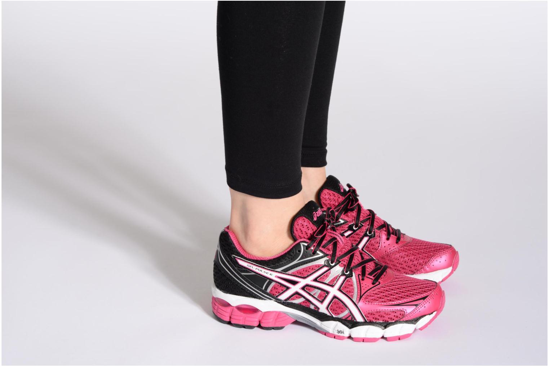 Chaussures de sport Asics Lady Gel-Pulse 6 Multicolore vue bas / vue portée sac