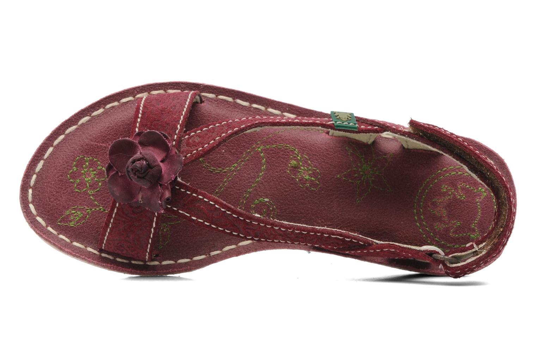 Sandales et nu-pieds El Naturalista Quercus 148 Bordeaux vue gauche