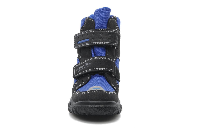 Stiefeletten & Boots Superfit Barnabas GTX blau schuhe getragen