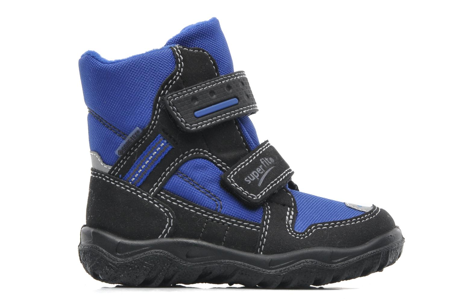 Ankle boots Superfit Barnabas GTX Blue back view