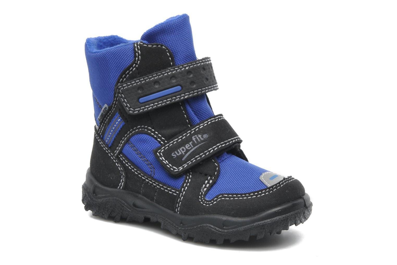 Bottines et boots Superfit Barnabas GTX Bleu vue détail/paire