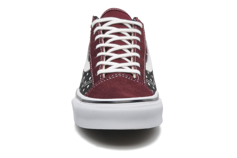 Sneaker Vans Style 36 Slim W mehrfarbig schuhe getragen