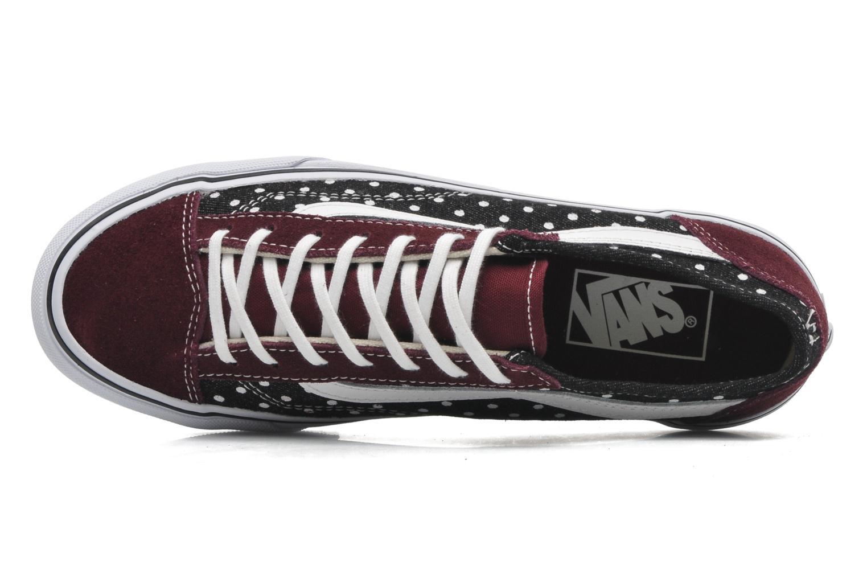 Sneaker Vans Style 36 Slim W mehrfarbig ansicht von links