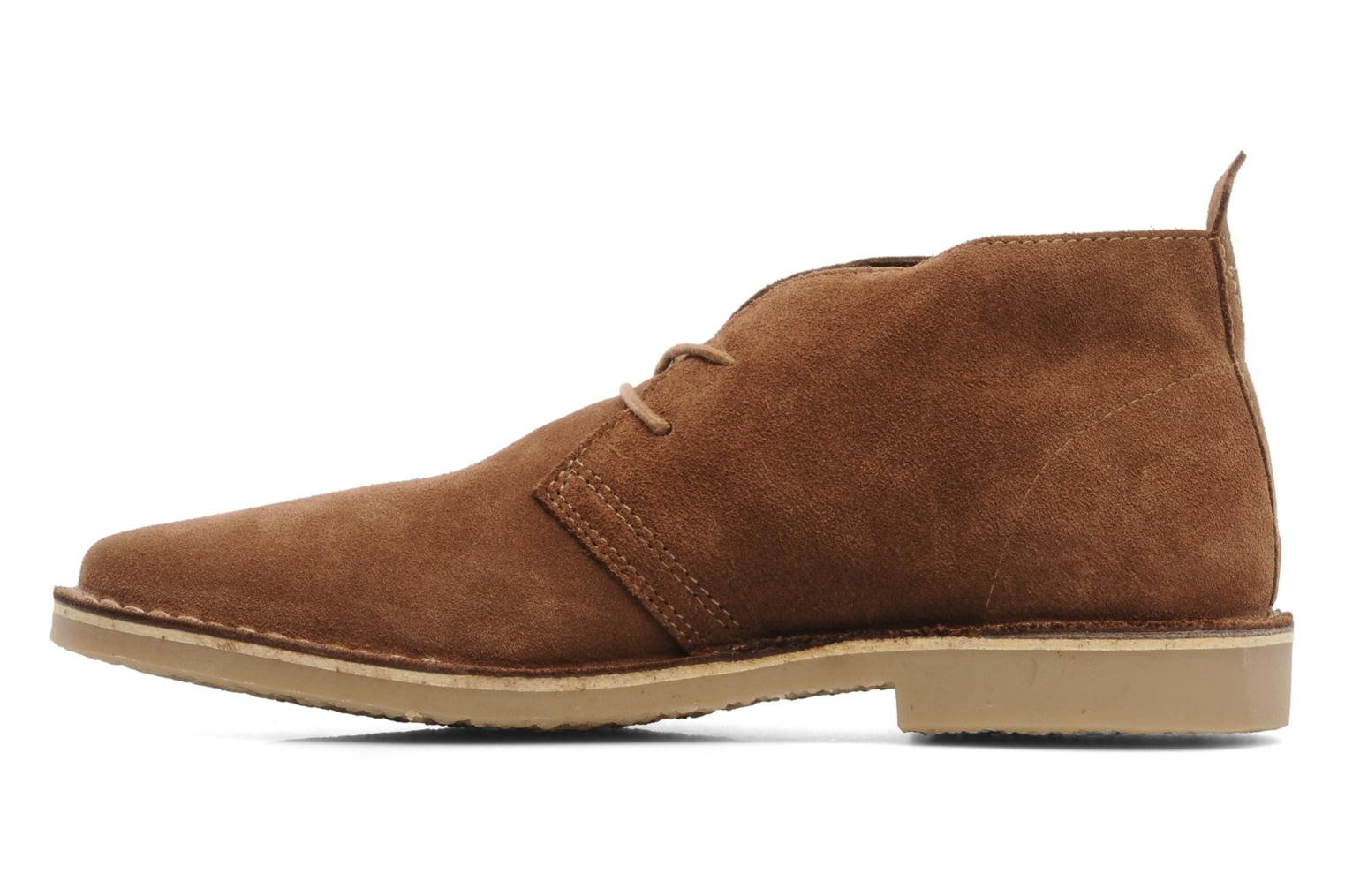 Chaussures à lacets Jack & Jones JJ Gobi Suede Desert Boot Prm Marron vue face