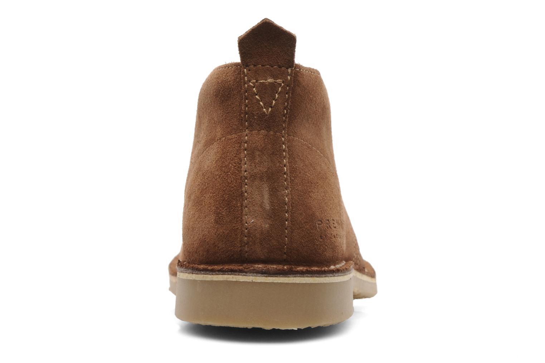 Chaussures à lacets Jack & Jones JJ Gobi Suede Desert Boot Prm Marron vue droite