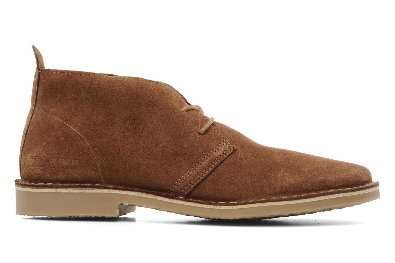 Chaussures à lacets Jack & Jones JJ Gobi Suede Desert Boot Prm Marron vue derrière