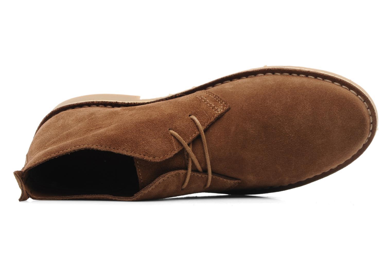 Veterschoenen Jack & Jones JJ Gobi Suede Desert Boot Prm Bruin links