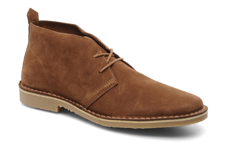 Chaussures à lacets Jack & Jones JJ Gobi Suede Desert Boot Prm Marron vue détail/paire