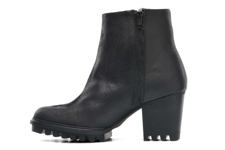 Boots en enkellaarsjes Swear Roisin Zwart voorkant