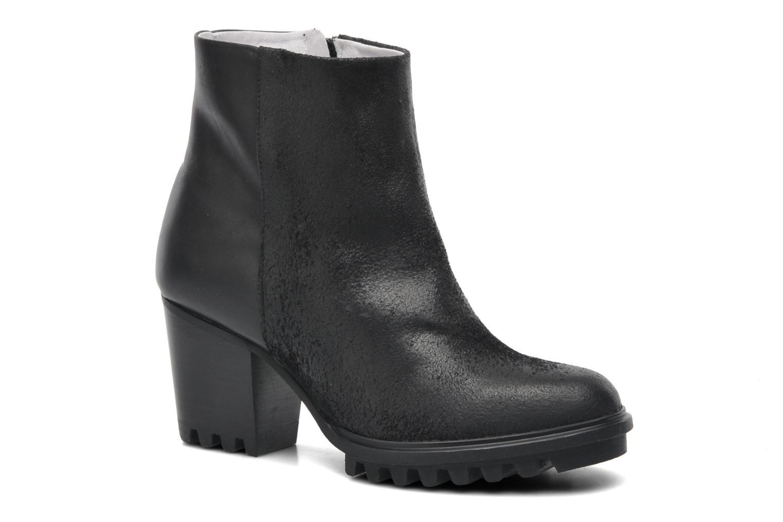 Boots en enkellaarsjes Swear Roisin Zwart detail