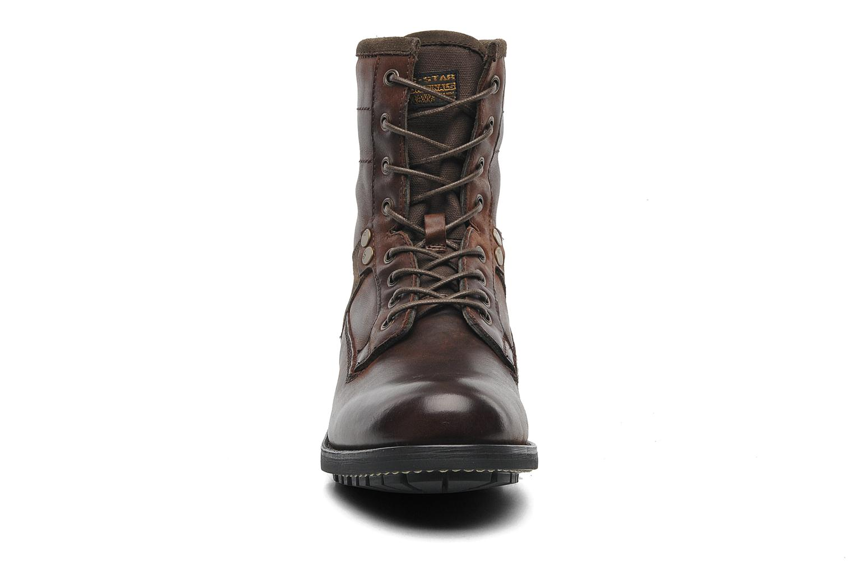 Bottines et boots G-Star Patton V Marker Marron vue portées chaussures