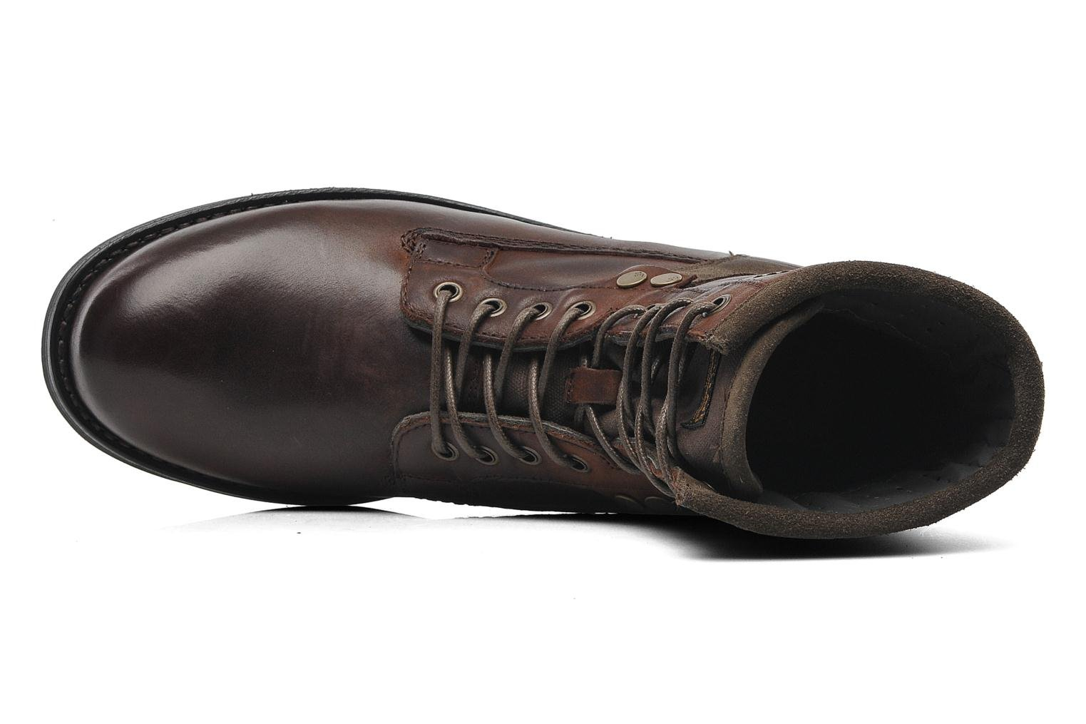 Patton V Marker Dark Brown Leather