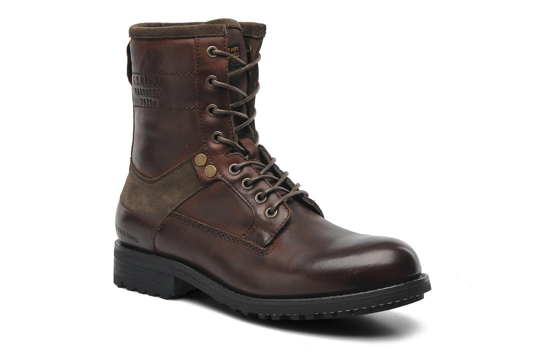 Patton V Marker Dark Brown Leather