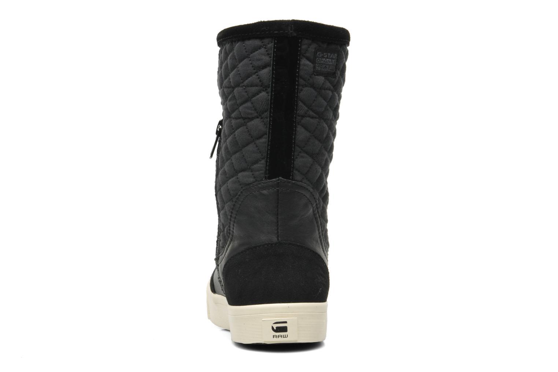 Bottines et boots G-Star Plateau Ripley Mix Noir vue droite