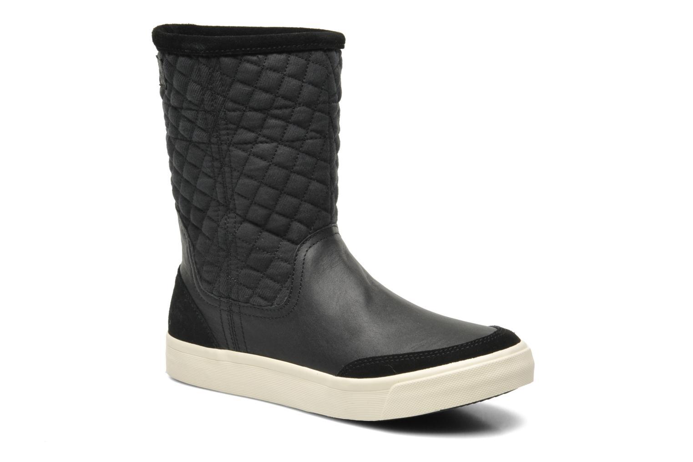 Plateau Ripley Mix Black Leather with Denim