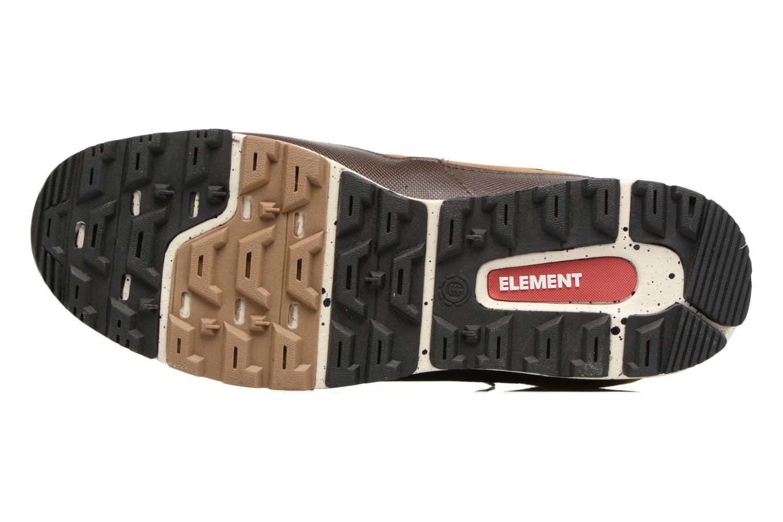 Chaussures à lacets Element Donnelly Marron vue haut