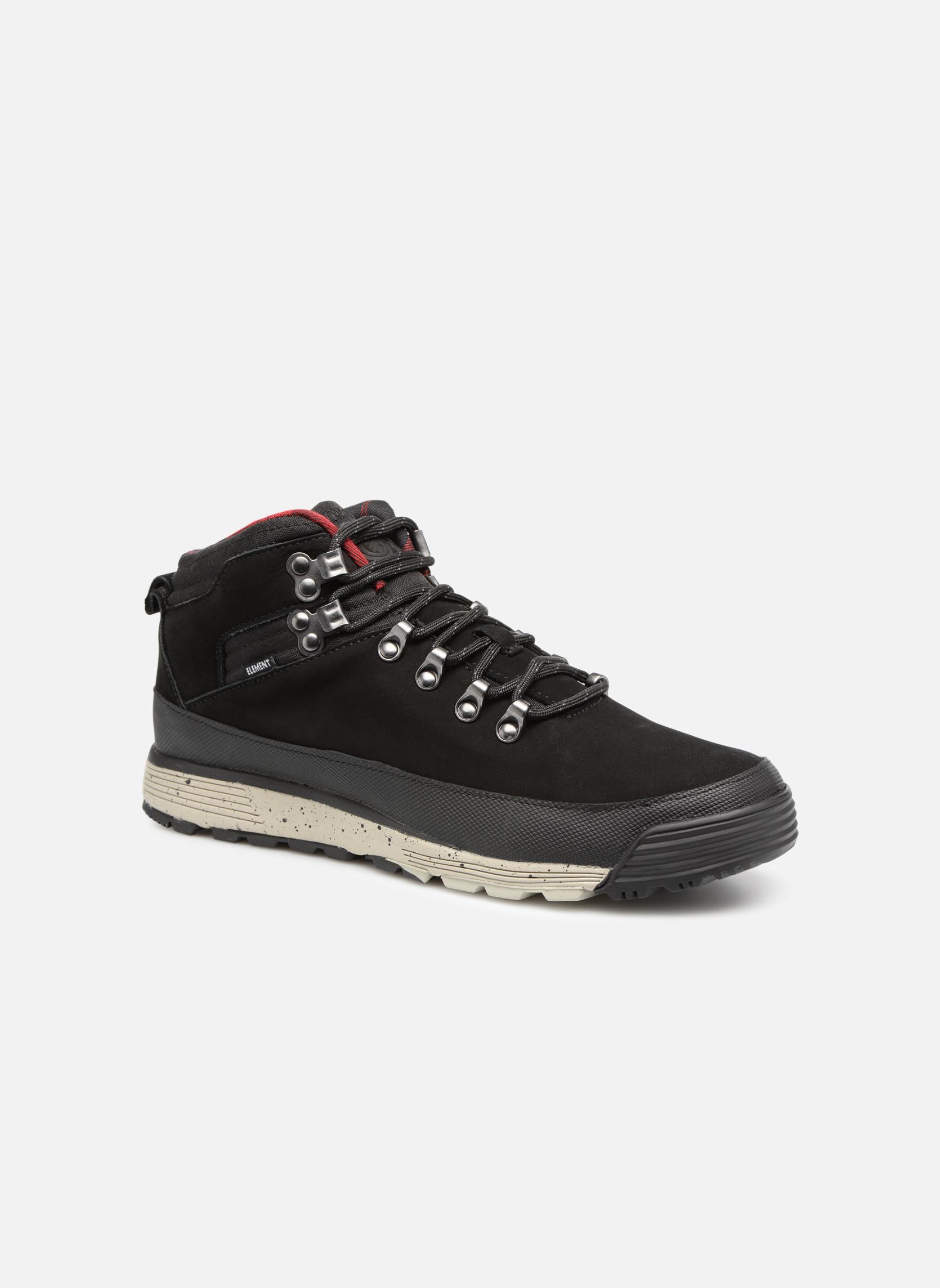Black Greyfull Grain Leather