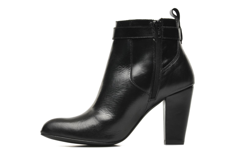 Bottines et boots Bronx Leelou Noir vue face