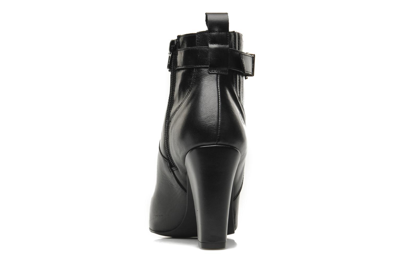 Bottines et boots Bronx Leelou Noir vue droite