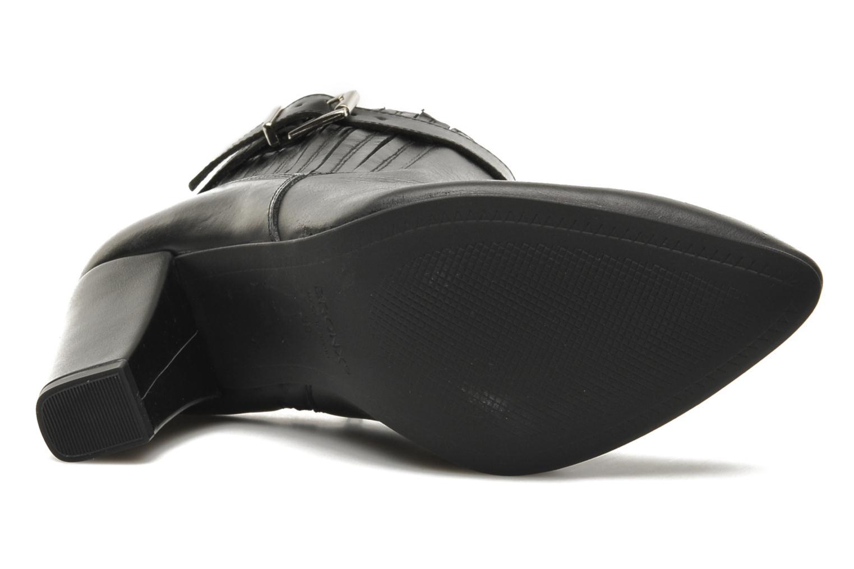 Bottines et boots Bronx Leelou Noir vue haut