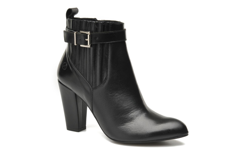 Bottines et boots Bronx Leelou Noir vue détail/paire