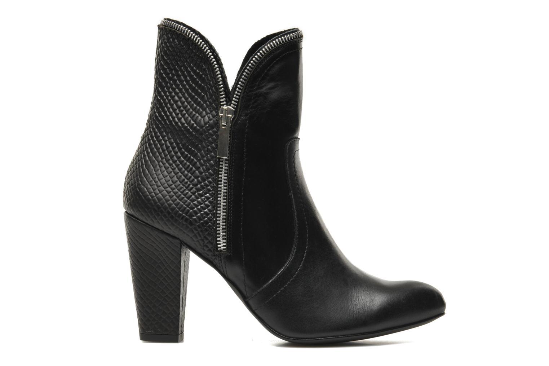 Bottines et boots Bronx Leelou Ter Noir vue derrière