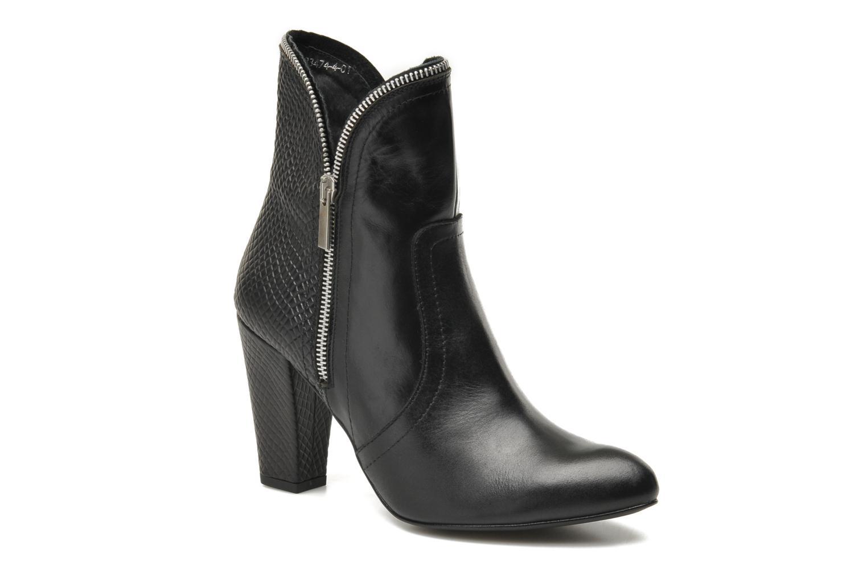 Bottines et boots Bronx Leelou Ter Noir vue détail/paire