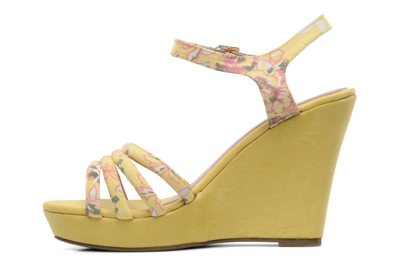 Sandalen Refresh Renda gelb ansicht von vorne