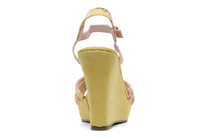 Sandalen Refresh Renda gelb ansicht von rechts