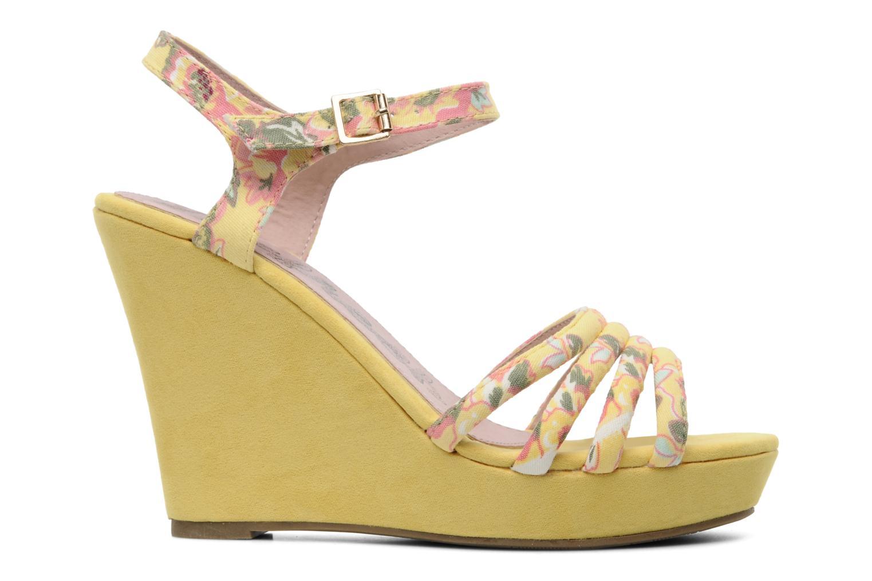 Sandalen Refresh Renda gelb ansicht von hinten