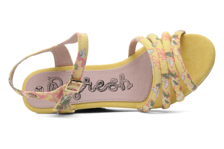 Sandalen Refresh Renda gelb ansicht von links