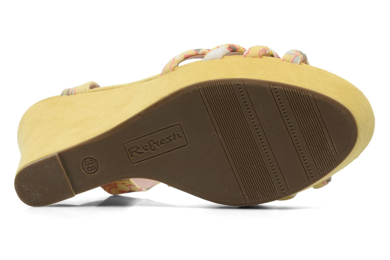 Sandalen Refresh Renda Geel boven