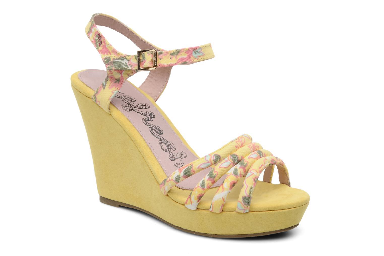Sandalen Refresh Renda gelb detaillierte ansicht/modell