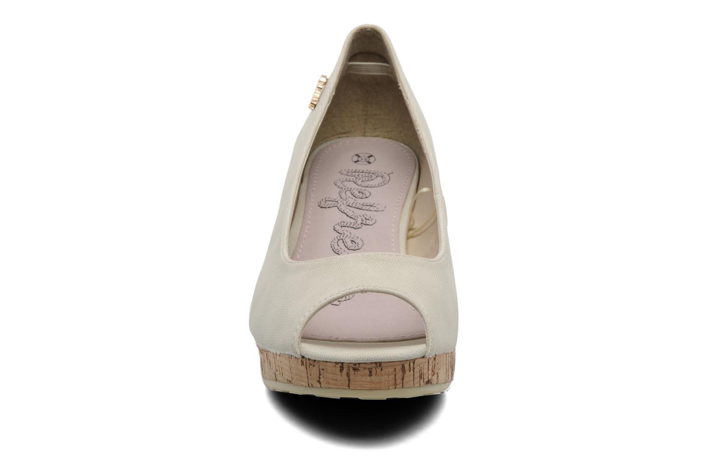 Escarpins Refresh Ritta Beige vue portées chaussures