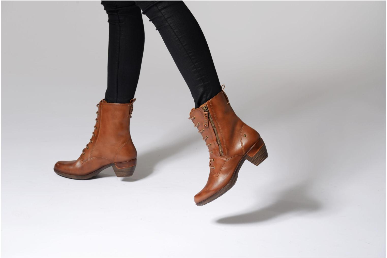 Bottines et boots Pikolinos ROTTERDAM 902-7936 Marron vue bas / vue portée sac