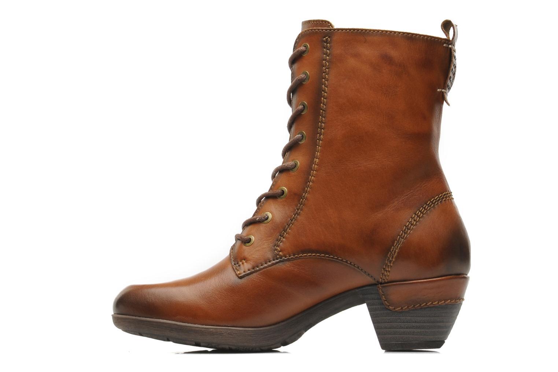 Boots en enkellaarsjes Pikolinos ROTTERDAM 902-7936 Bruin voorkant