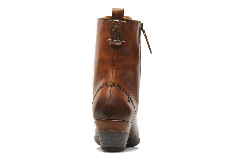 Boots en enkellaarsjes Pikolinos ROTTERDAM 902-7936 Bruin rechts