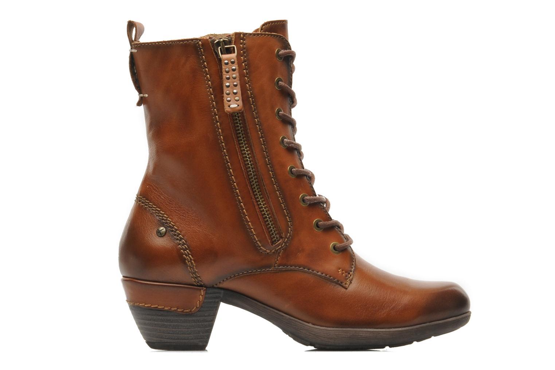 Boots en enkellaarsjes Pikolinos ROTTERDAM 902-7936 Bruin achterkant
