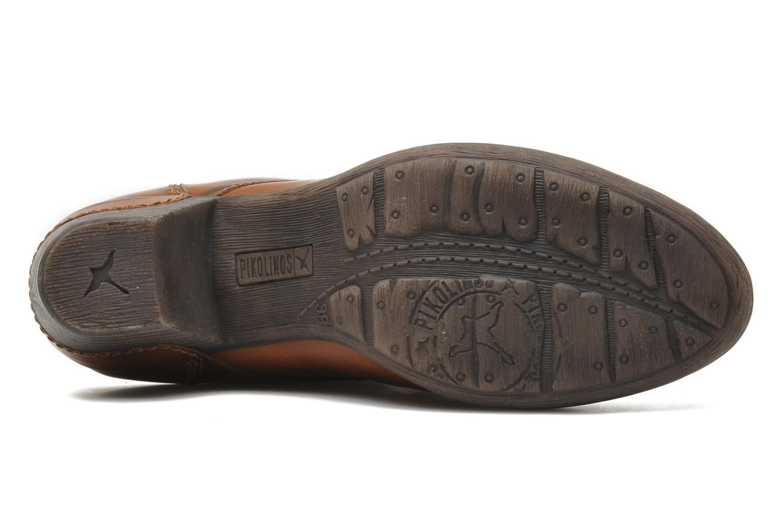Stiefeletten & Boots Pikolinos ROTTERDAM 902-7936 braun ansicht von oben